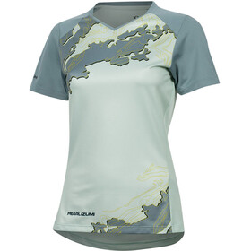 PEARL iZUMi Launch Shortsleeve Jersey Women mist green/arctic composite